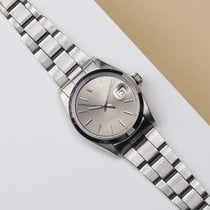 Rolex Oyster Perpetual Date Acero 34mm Plata
