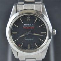 Rolex Milgauss Steel 38mm Black No numerals