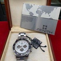 Zenith Ultra Rare Zenith El Primero De Luca Mark1 Porcelain Dial