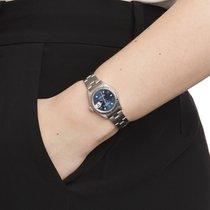 Rolex Oyster Perpetual Lady Date Staal 26mm Blauw Arabisch Nederland, Amsterdam