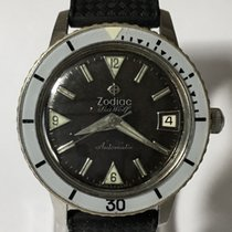 Zodiac Steel 35mm Automatic 1750 B - 722-946B pre-owned United Kingdom, Ringwood