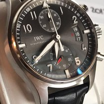 IWC Cronograf 43mm Atomat 2012 folosit Pilot Spitfire Chronograph Gri