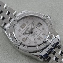 Breitling Galactic 32 Steel 32mm Silver Roman numerals