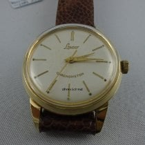 Laco Yellow gold 34mm Manual winding pre-owned