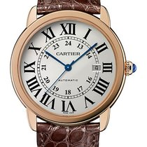 Cartier Ronde Solo de Cartier Rose gold 42mm Silver Roman numerals United States of America, New York, New York