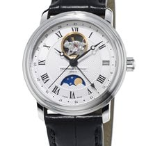 Frederique Constant 40mm nieuw Classics Moonphase Wit