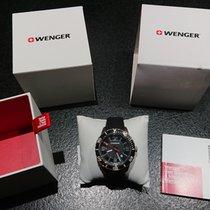 Wenger Steel 45mm Quartz 01.0851.117 new
