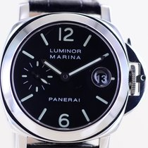 Panerai Luminor Marina Automatic Stål 40mm Svart Arabiska