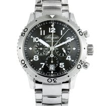Breguet Type XX - XXI - XXII pre-owned 42mm Chronograph Flyback Date Steel