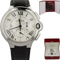 Cartier Ballon Bleu 44mm Steel 44mm Silver Roman numerals United States of America, New York, Lynbrook