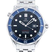 Omega 2221.80.00 Stahl 2010 Seamaster Diver 300 M 41mm gebraucht