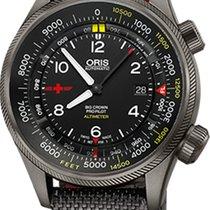 Oris Big Crown ProPilot Altimeter 73377054234FS new