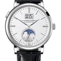 A. Lange & Söhne Saxonia White gold 40mm Silver United States of America, Florida, Sunny Isles Beach