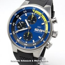 IWC Aquatimer Chronograph Stahl 44mm Blau Deutschland, Teuschnitz