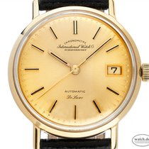 IWC pre-owned Automatic 34mm Champagne Plexiglass