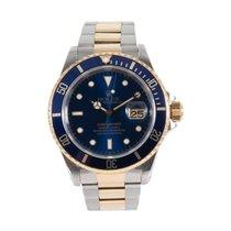 Rolex 16613 Goud/Staal 1999 Submariner Date 40mm tweedehands