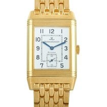 Jaeger-LeCoultre Reverso Grande Taille pre-owned White Yellow gold