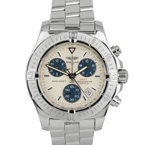 Breitling Colt Chronograph Steel 41mm Silver United States of America, New York, Massapequa Park