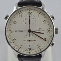 IWC Portuguese Chronograph Zeljezo 41mm Srebro Arapski brojevi