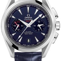 Omega Aqua Terra 150m Co-Axial GMT Chronograph 43mm 231.13.43....