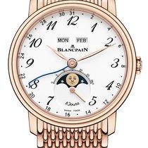 Blancpain Villeret Quantième Complet Rose gold 42mm