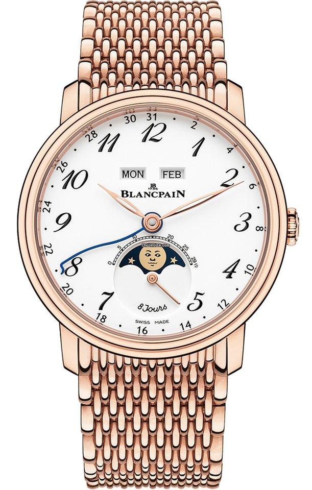 Blancpain Villeret Quantième Complet 6639A-3631-MMB 2021 neu
