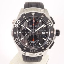 TAG Heuer pre-owned Automatic 45mm Black Sapphire crystal 30 ATM