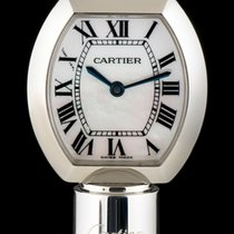 Cartier S/S MOP Roman Dial Limited Edition Ball Point Pen Watch