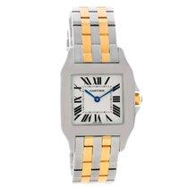 Cartier Santos Demoiselle Steel 18k Yellow Gold Midsize Watch...