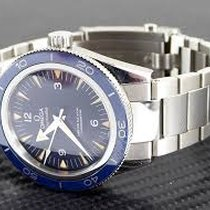 Omega Seamaster 300 Master Co Axial 41mm Blue Dial  Steel...
