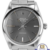 Rolex Oyster Perpetual Air-King Gray Patina Stainless 5500 34mm