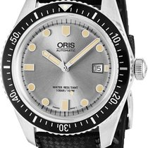 Oris Steel Automatic Silver new Divers Sixty Five