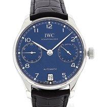 IWC Portuguese Automatic Acero 42.3mm Azul