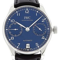 IWC Portuguese Automatic Steel 42mm Blue
