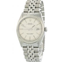 Rolex Oyster Perpetual Datejust 1601 Linen Dial Mens Watch