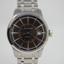 Hamilton Railroad new 2019 Automatic Watch with original box and original papers H40555131