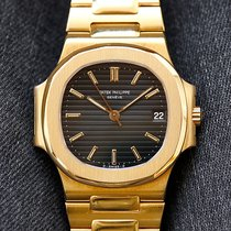 Patek Philippe 3800 Yellow gold 1985 Nautilus 37mm pre-owned