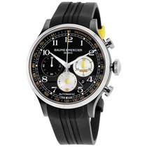 Baume & Mercier Capeland Steel 44mm Black Arabic numerals United States of America, Iowa, Des Moines