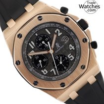 Audemars Piguet Red gold Automatic Grey Arabic numerals 42mm new Royal Oak Offshore Chronograph