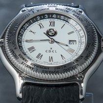 Ebel Acier 40mm Remontage automatique Worldtimer GMT Automatic occasion
