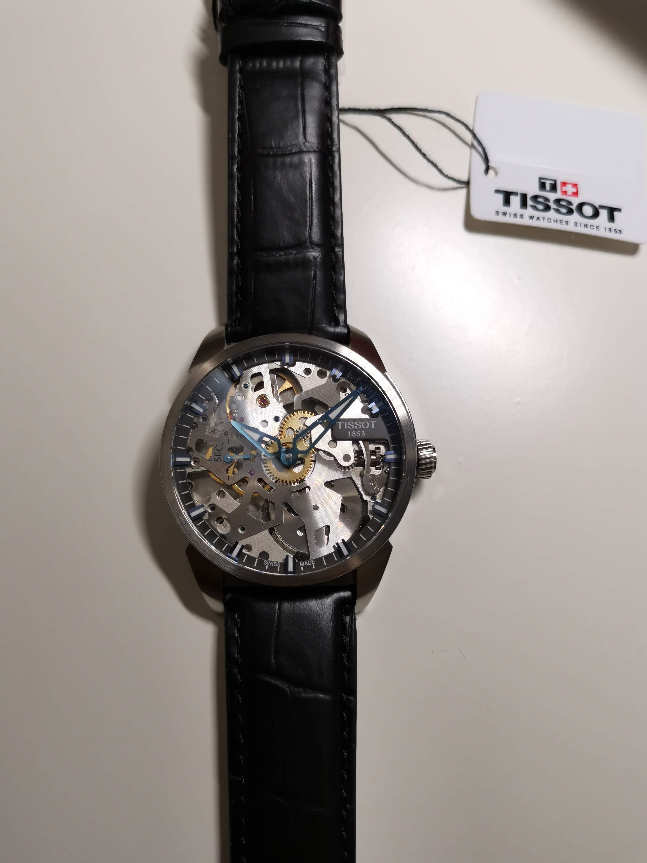 16 405 Tissot T Squelette T070 411 Mechanical À Complication 00 uFTKl1J3c