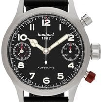 Hanhart Steel 45mm Automatic 730.210-0010 new