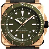 Bell & Ross new Automatic Luminescent Numerals Luminescent Hands Limited Edition 42mm Bronze