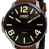 U-Boat Stahl 45mm Quarz 8110/A neu