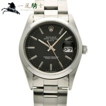 Rolex Oyster Perpetual Date Acero 34mm Negro