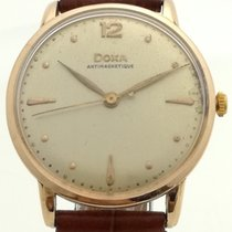 Doxa Doxa Vintage 14 K gold - Servived & Warranty 1950 occasion