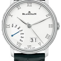 Blancpain Villeret new Automatic Watch with original box and original papers 6668-1127-55B