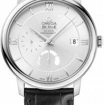 Omega De Ville Prestige Сталь 39.5mm Cеребро Римские