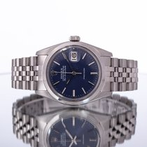 Rolex Air King Date Steel 34mm Blue