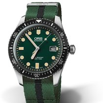 Oris Divers Sixty Five 01 733 7720 4057-07 5 21 25FC Oris SIXTY-FIVE Verde Nero new